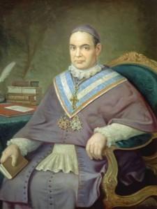 Luis Madrazo. Retrato al óleo,   después de 1870. Comunidad de Segovia.