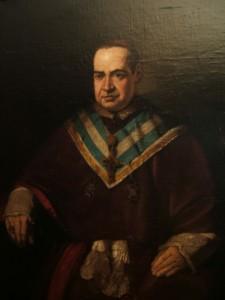 Germán Hernández. Retrato al óleo, antes  de 1868. Comunidad de Buen Suceso (Madrid).
