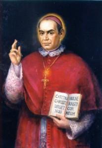 Juan Palomo. Óleo sobre lienzo, 1998, Catedral de Sta. Ana, Las Palmas de Gran Canaria.