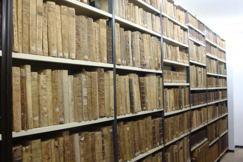 Secció de llibres antics