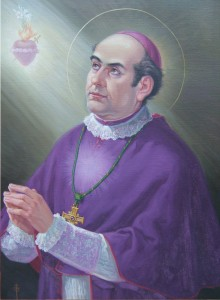 Giuseppe Conti. Pintura al óleo,  1950, Curia Generalicia (Roma).