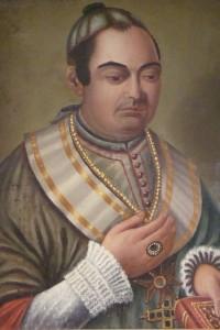 Francesc Solà. Posible primer  retrato al óleo, 1850. CESC (Vic)