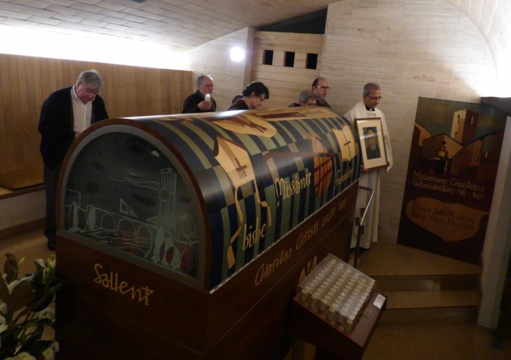 Sepulcro de Xifré junto al de Claret